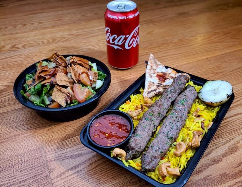 Special Deal: Skewer Kebab w/ Rice & Salad Image