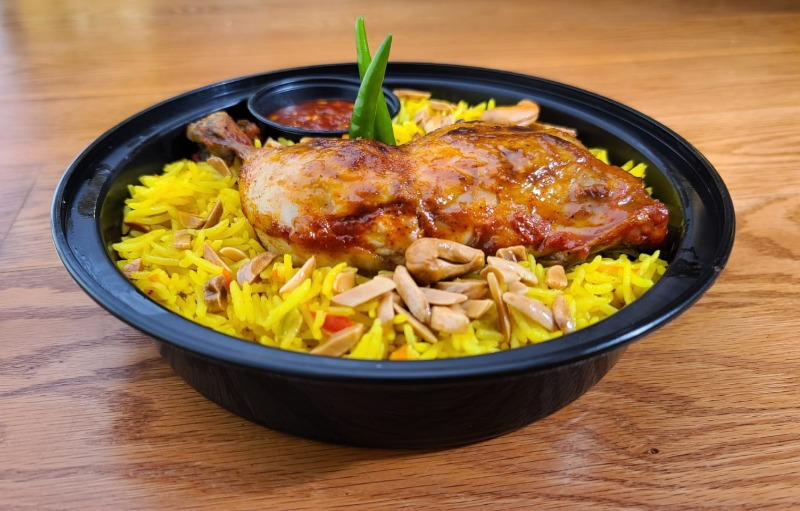 Special Deal: Chicken w/ Rice and Salad Image