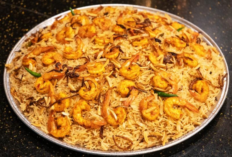 Shrimp MANDI Tray Image