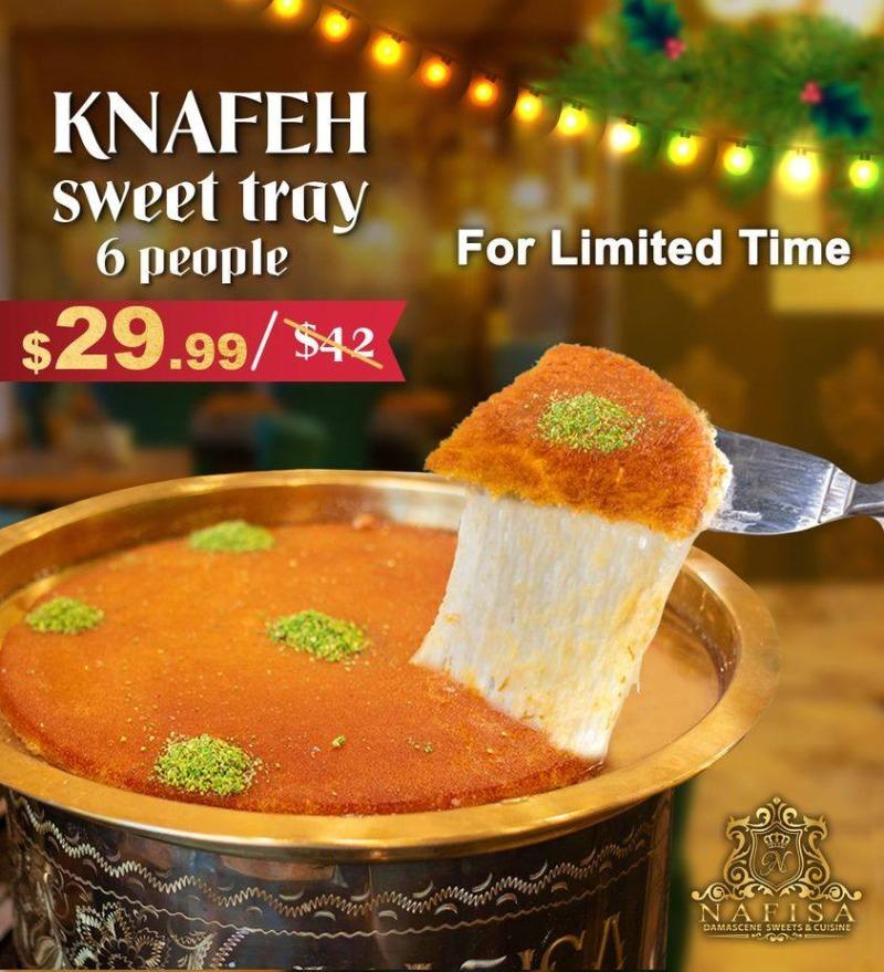 Special Nafisa Knafeh Offer Image