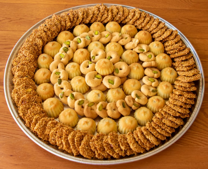 Variety Cookies Tray Image