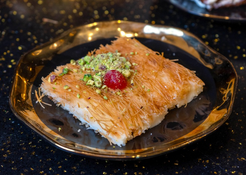 Famous Course Kunafeh with Cream