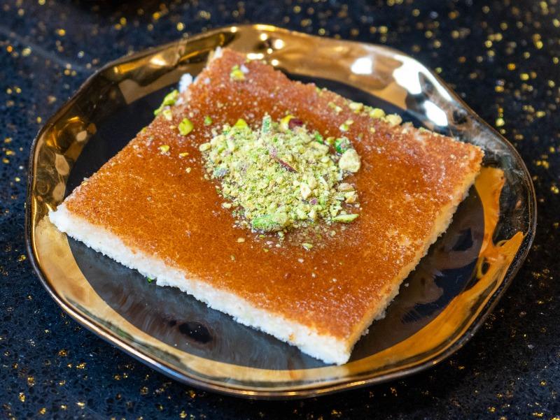 Soft Kunafah with Cheese