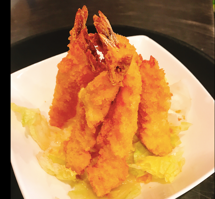 4. Tempura Shrimp (6 pcs)