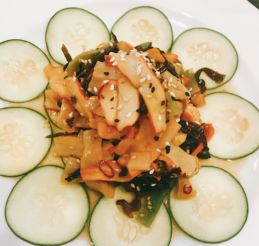 Squid Salad Image