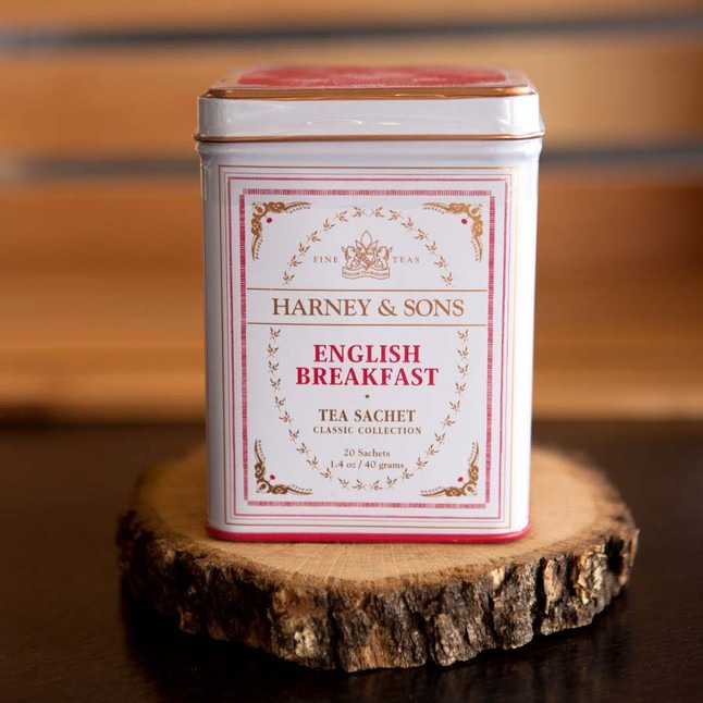 English Breakfast - Tea Tins