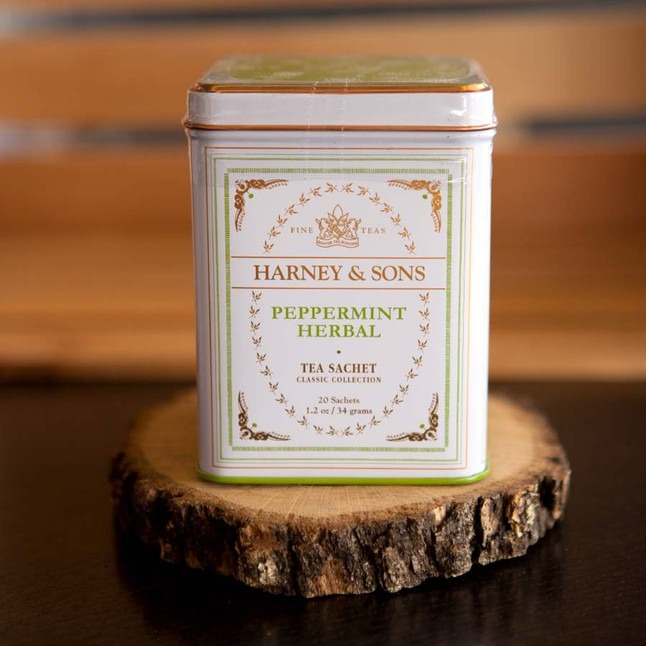 Peppermint Herbal - Tea Tins