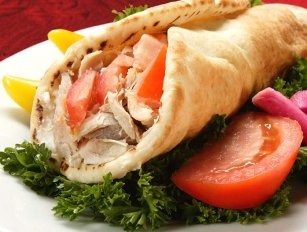 CHICKEN SHAWARMA WRAP Image