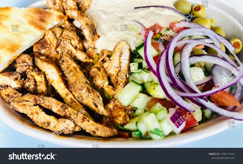 CHICKEN SHWARMA PLATE Image