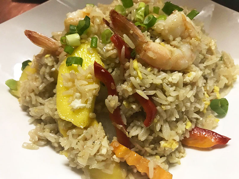 Mango Fried Rice (Lunch) Image