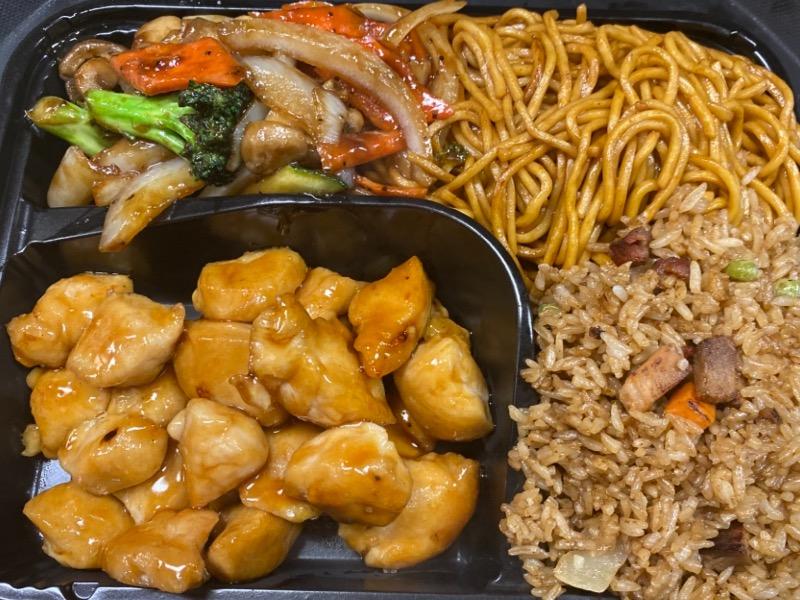 3. 铁板鸡Chicken Hibachi
