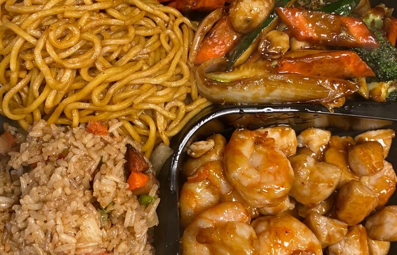 9.铁板鸡虾 Chicken & Shrimp Hibachi Image