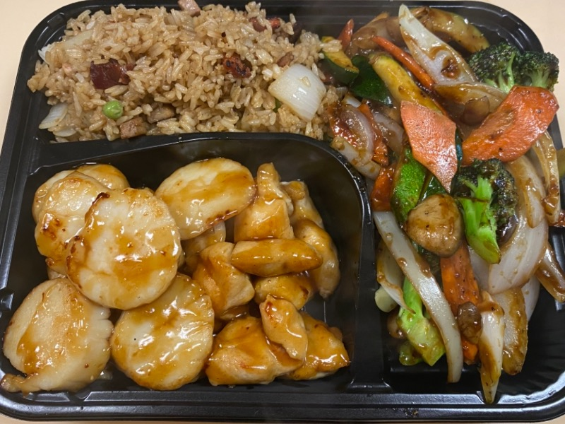 10.铁板鸡干贝 Chicken & Scallop Hibachi Image