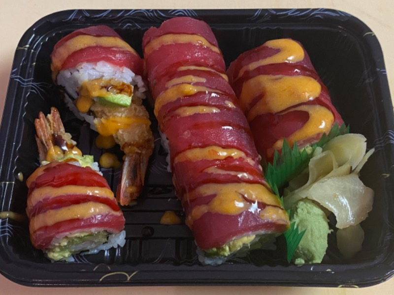 34. Red Dragon Roll Image