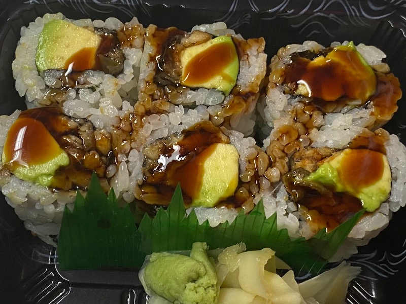 Eel Avocado Roll Image