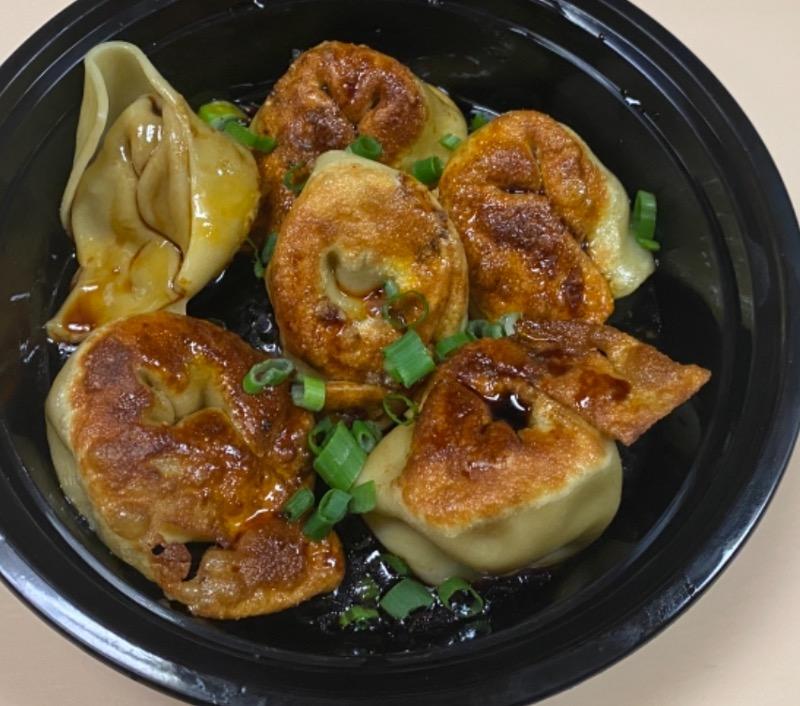四川煎肉云吞 pan Fried Szechuan Spicy Pork Wonton (6) Image