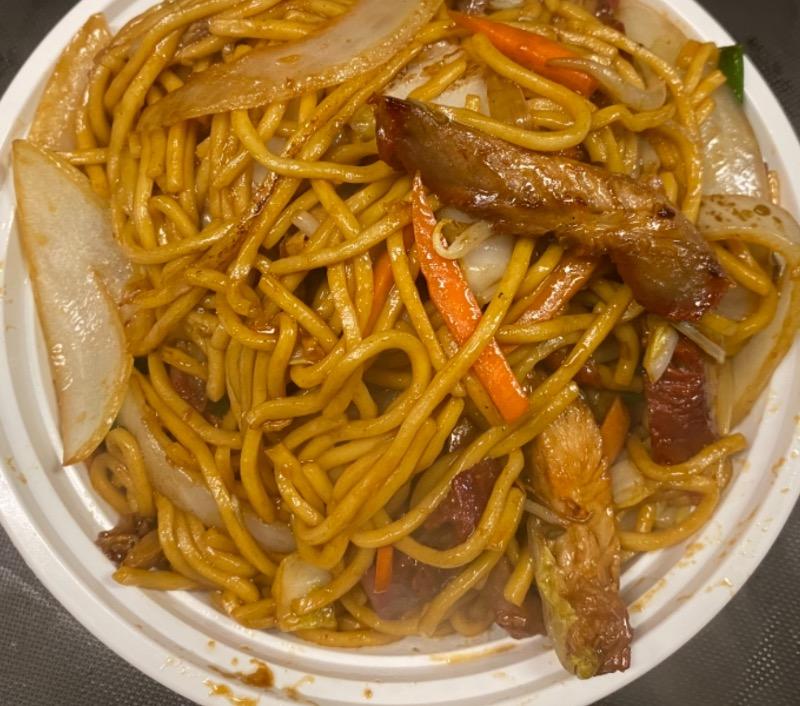叉烧捞面 Roasted Pork Lo Mein Image