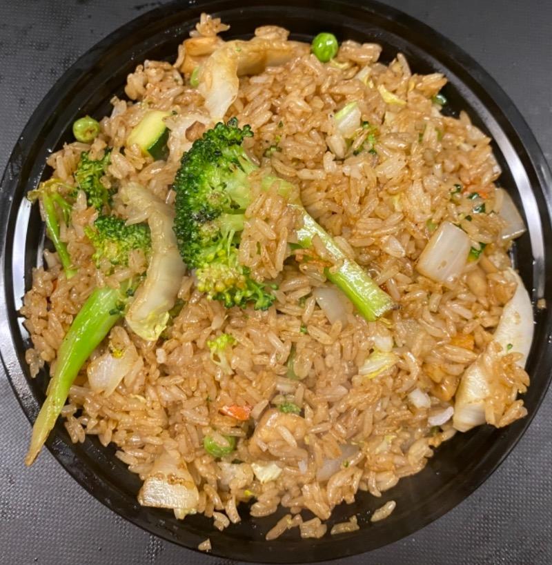 菜炒饭 Vegetable Fried Rice Image
