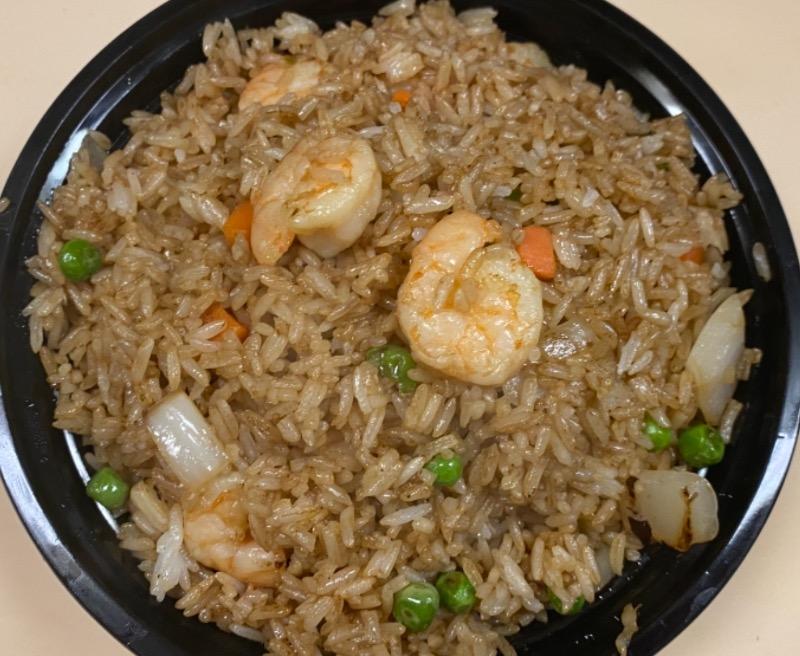 虾炒饭 Shrimp Fried Rice
