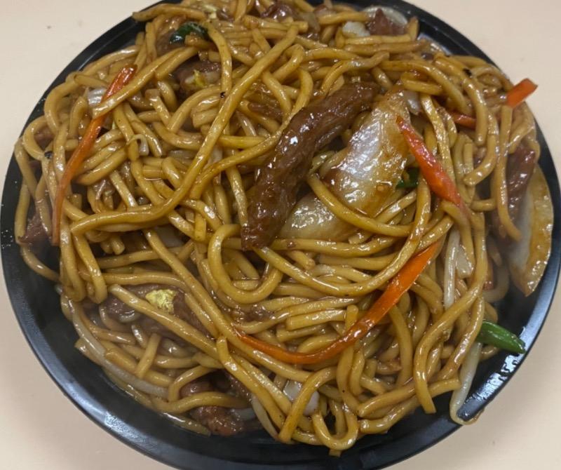 牛捞面 Beef Lo Mein