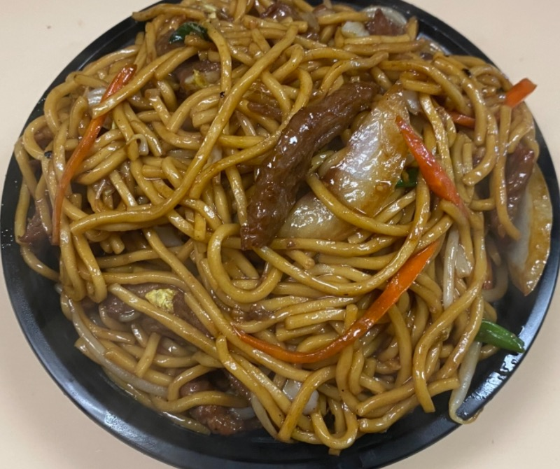 牛捞面 Beef Lo Mein Image