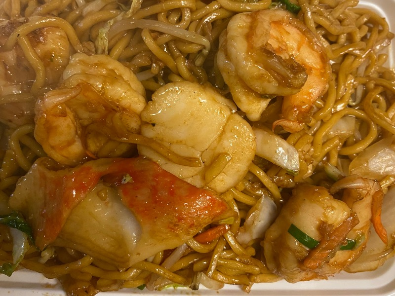 海鲜捞面 Seafood Lo Mein