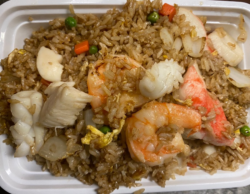 海鲜炒饭 Seafood Fried Rice Image