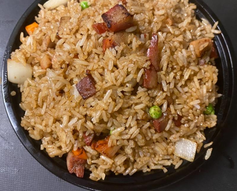 叉烧炒饭 Roasted Pork Fried Rice