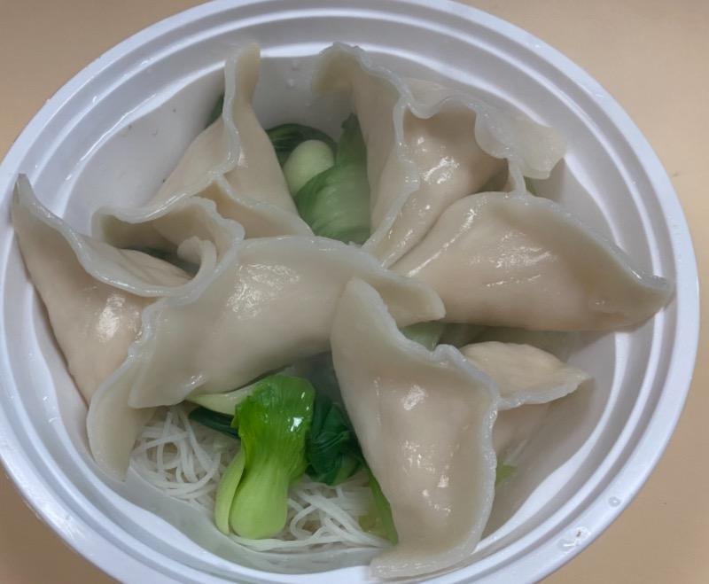 鸡饺面汤 Chicken Dumpling Noodle Soup Image