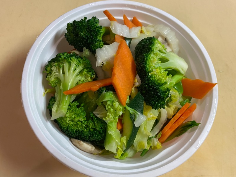 杂菜面汤 Mixed Veg. Noodle Soup