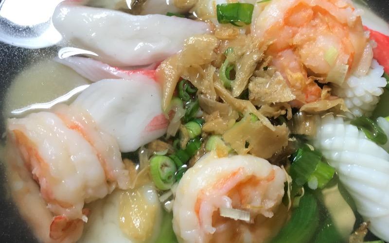 海鲜面汤 Seafood Noodle Soup