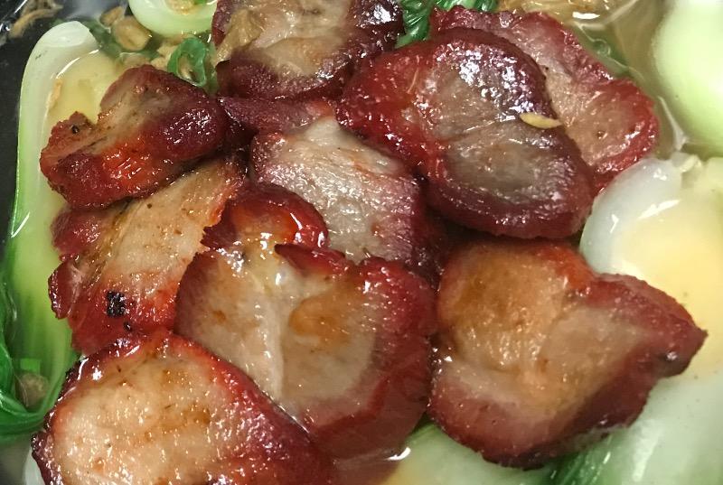 叉烧面汤 Roasted Pork Noodle Soup Image