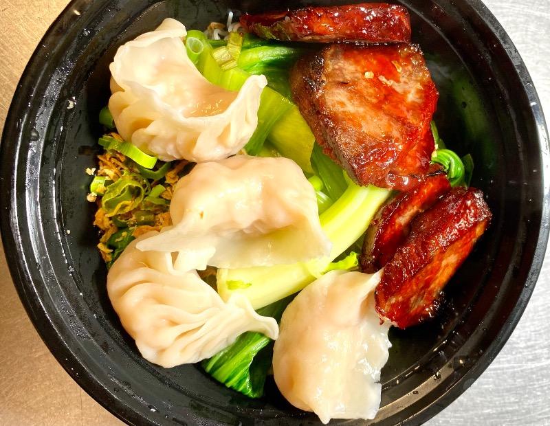 叉烧虾饺汤面 Roasted Pork & Shrimp Dumpling Noodle Soup Image