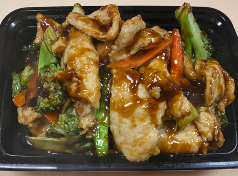 芥兰鸡 Chicken w. Broccoli Image