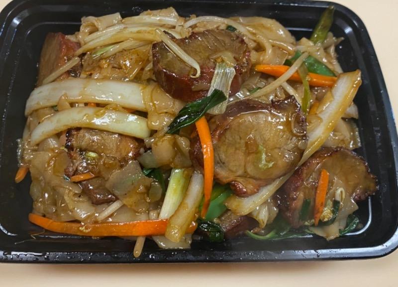 叉烧河粉 Roasted Pork Chow Fun