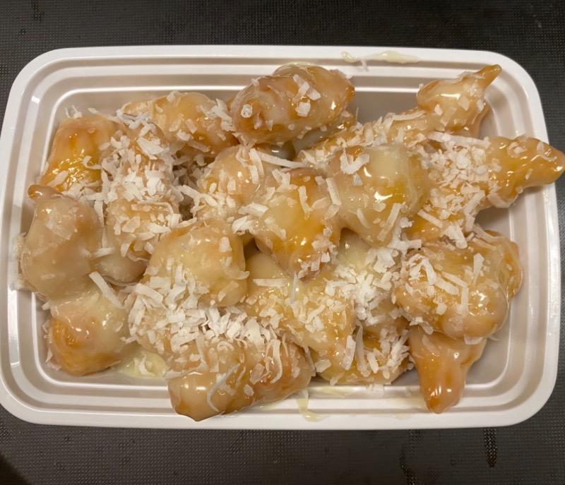 椰汁鸡 Chicken w. Coconut Sauce Image