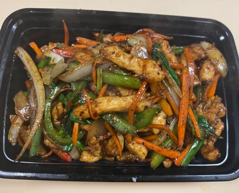 香辣鸡丝 Hot & Spicy Shredded Chicken
