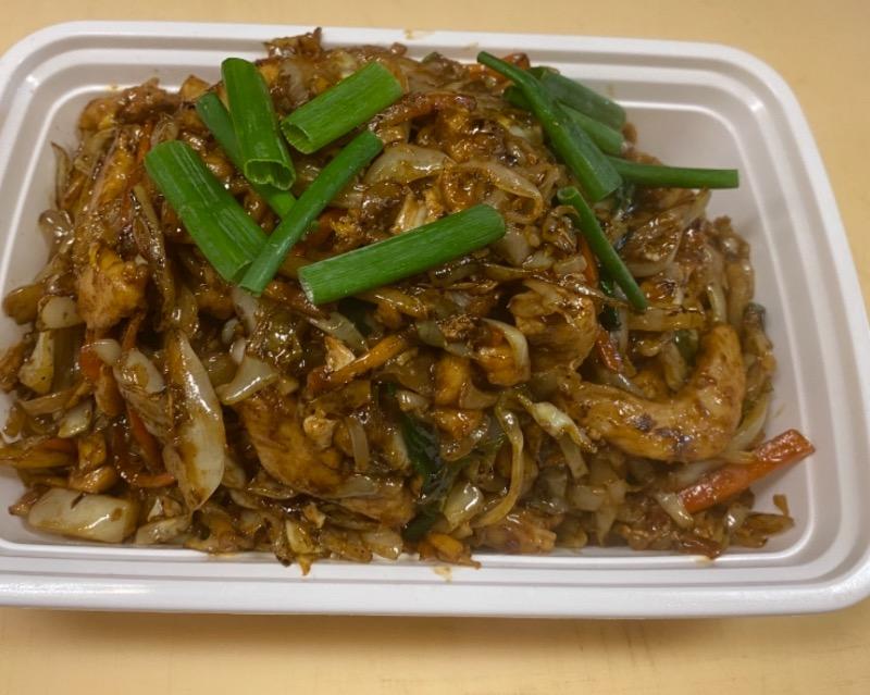 木须鸡 Moo Shu Chicken