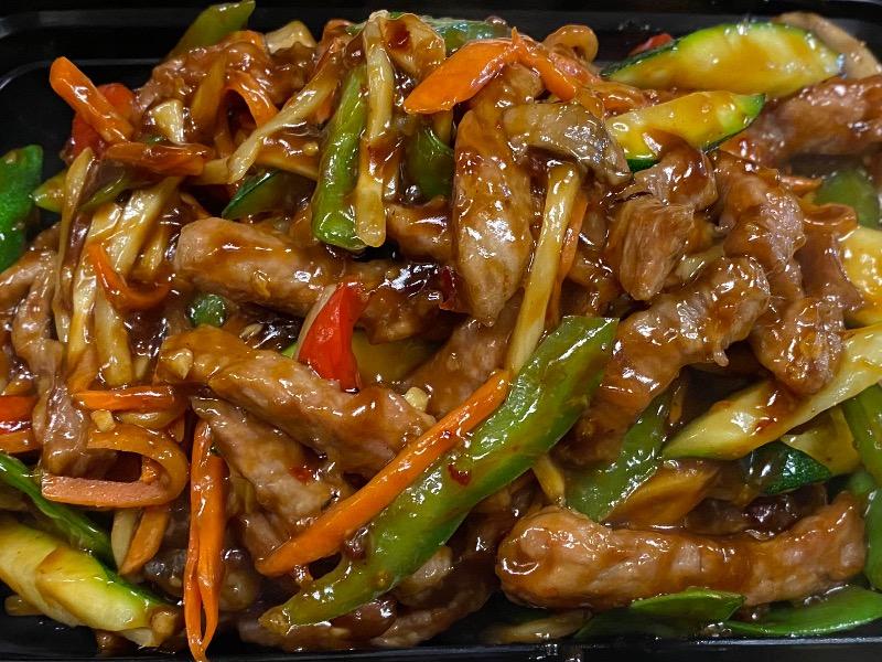 鱼香肉丝 Fresh Shredded Pork w. Garlic Sauce