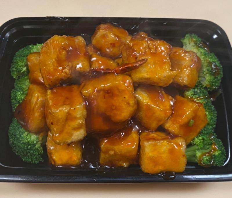 左宗豆腐 General Tso's Tofu Image