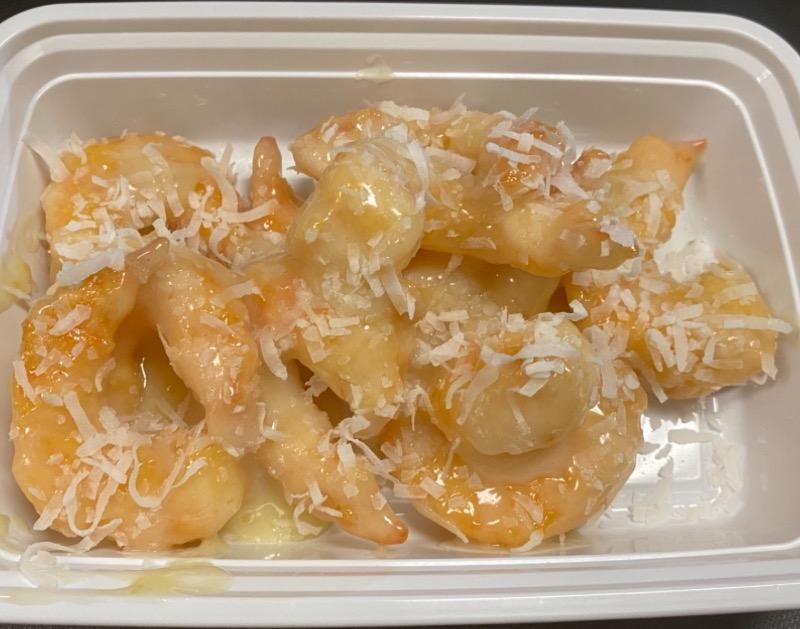 椰汁大虾 Jumbo Shrimp with Coconut