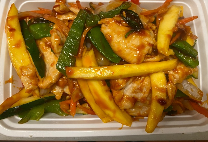 芒果鸡 Mango Chicken