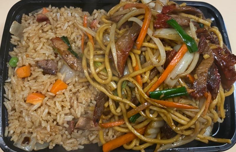 叉烧捞面 Pork Lo Mein