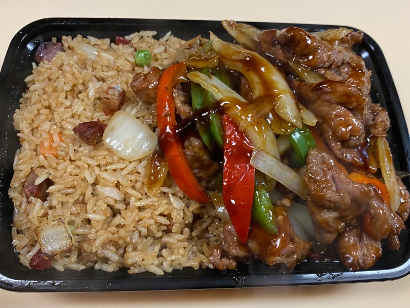 青椒牛 Pepper Steak with Onion Image