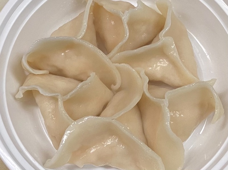 蒸鸡饺 Steamed Chicken Dumpling (6)