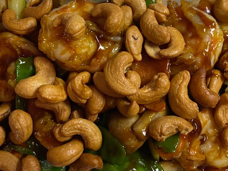 腰果虾 Shrimp w. Cashew Nut