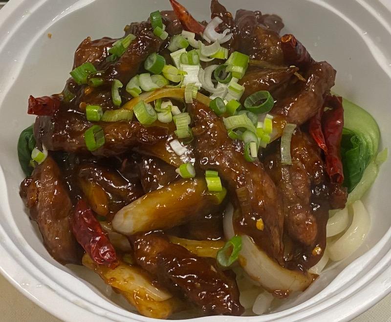 辣牛肉丝面汤 Spicy Shredded Beef Noodle Soup Image