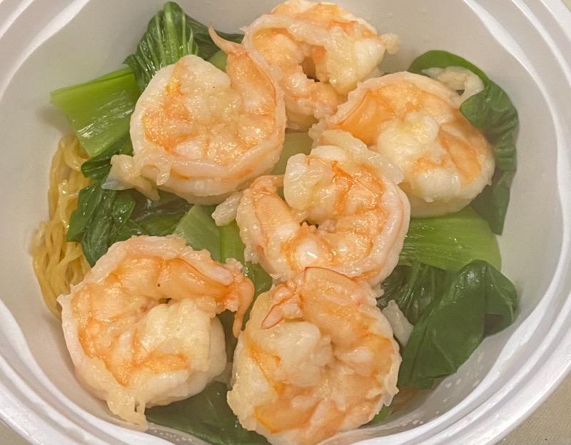 大虾面汤 Jumbo Shrimp Noodle Soup Image