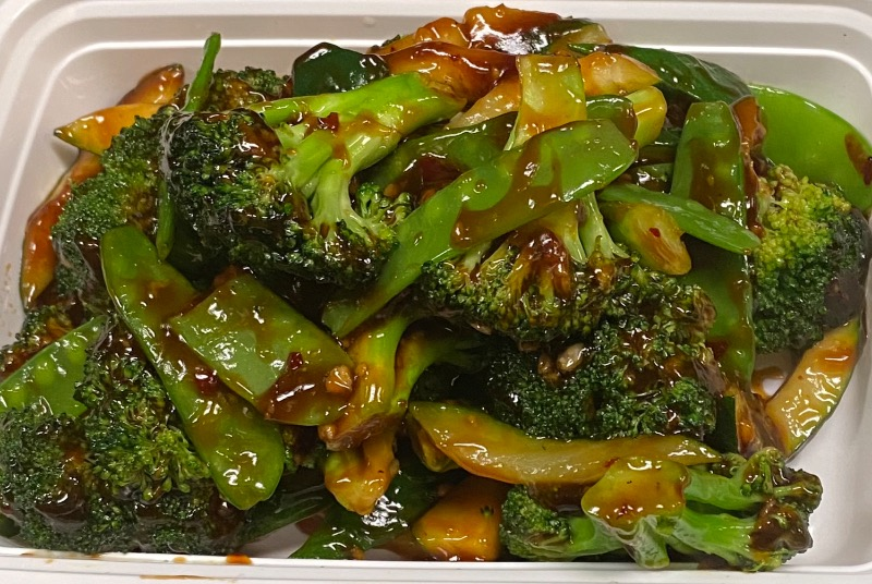 鱼香绿玉 Green Jade w. Garlic Sauce