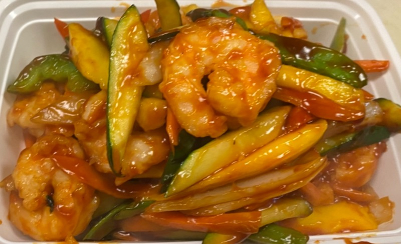 芒果虾 Mango Shrimp